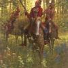 Red Coat - Shawnee Chief Tecumseh by Doug Hall | Giclées