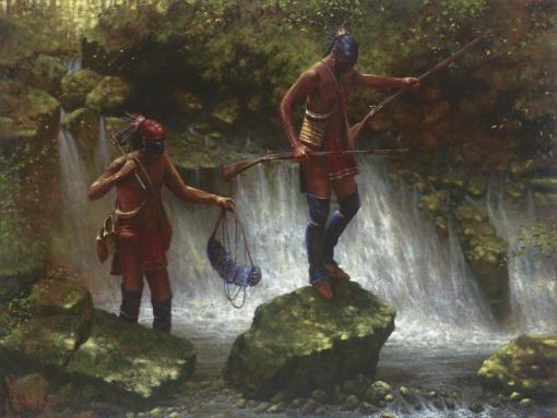 Slippery Rocks Falls by Doug Hall | Giclées