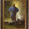 Girl in a Blue Dress by Doug Hall | Giclée