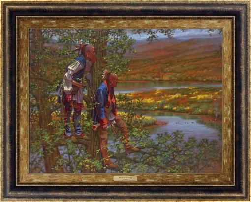Red Coat Crossing by Doug Hall | Giclée