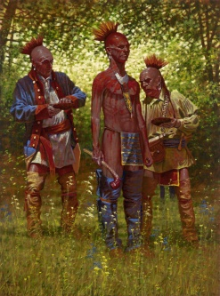 Shawnee Red by Doug Hall | Giclées