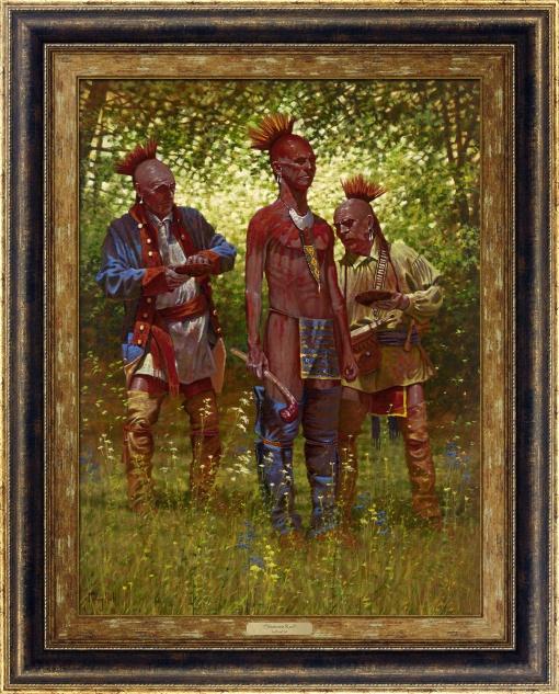 Shawnee Red by Doug Hall   Giclée