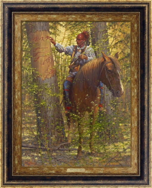 Wilderness Message by Doug Hall | Giclée