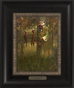 A Cautious Peek 1023 - 9x12 Frame
