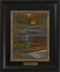 Portage on Indian Creek 1023 - 9x12 Frame