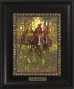 Red Coat - Chief Tecumseh 1023 - 9x12 Frame