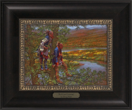 Red Coat Crossing 1023 - 9x12 Frame