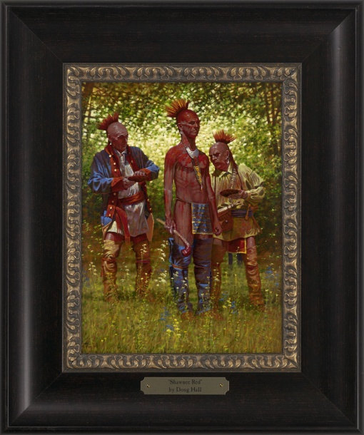 Shawnee Red 1023 - 9x12 Frame