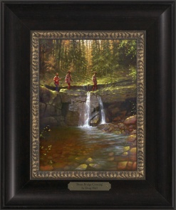 Stone Bridge Crossing 1023 - 9x12 Frame