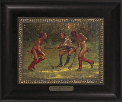 The Great Game - Lacrosse 1023 - 9x12 Frame