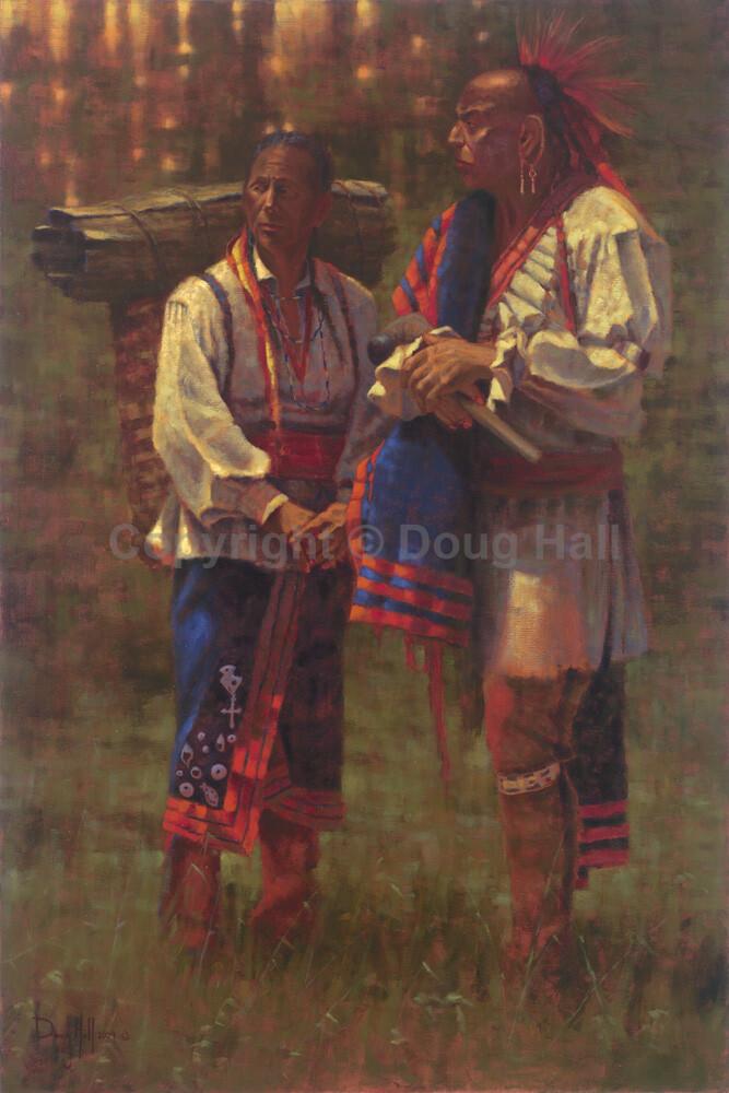 Full Regalia by Doug Hall 091 36x24