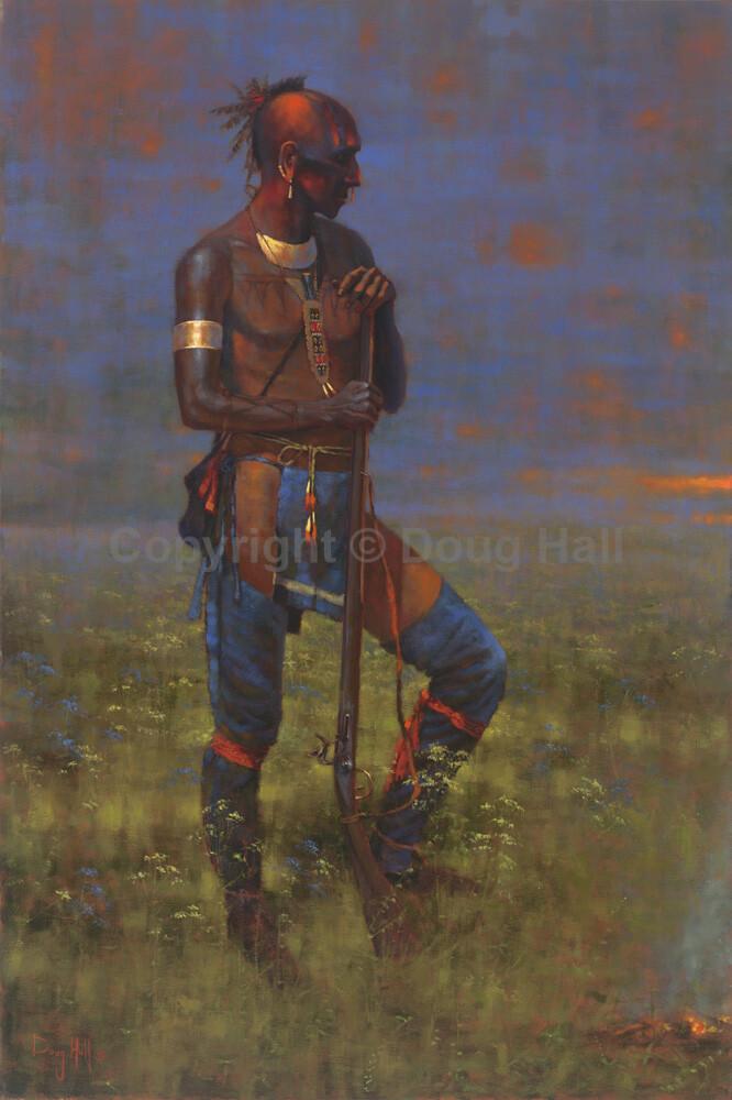 Mohawk by Doug Hall 061 36x24