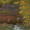 Neosho Big Spring Bluff by Doug Hall 051 40x30