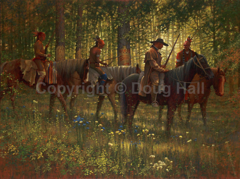 No Trespassing by Doug Hall- 058 - 36x48