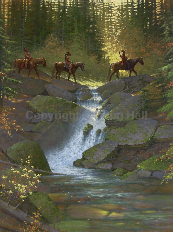 Shawnee Gap by Doug Hall- 053 - 36x48