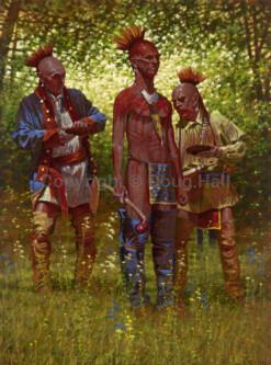 Shawnee Red by Doug Hall 031 40x30