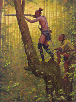 The Ambush by Doug Hall 024 40x30