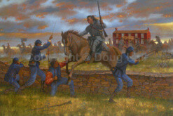 The First Battle of Newtonia by Doug Hall - 049 - 40x60