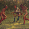 The Great Game - Lacrosse by Doug Hall