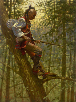 Treetop Advantage by Doug Hall 012 40x30