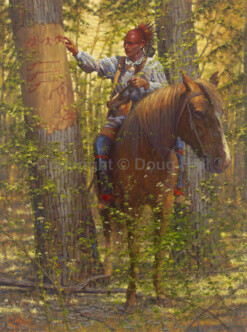 Wilderness Message by Doug Hall 017 48x36 Final