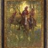 Red Coat - Shawnee Chief Tecumseh, 1812 by Doug Hall   Giclée