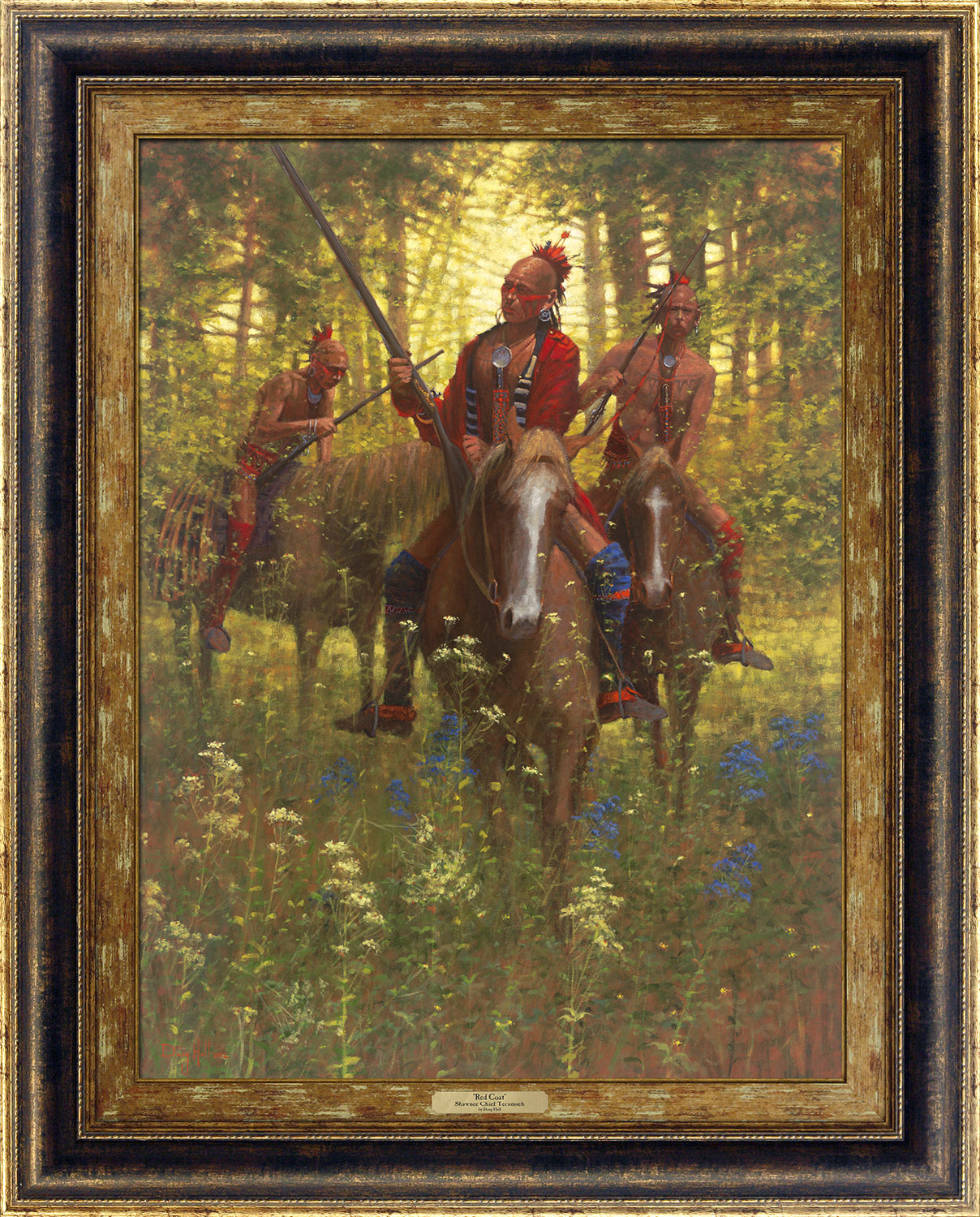 Red Coat - Shawnee Chief Tecumseh, 1812 by Doug Hall | Giclée