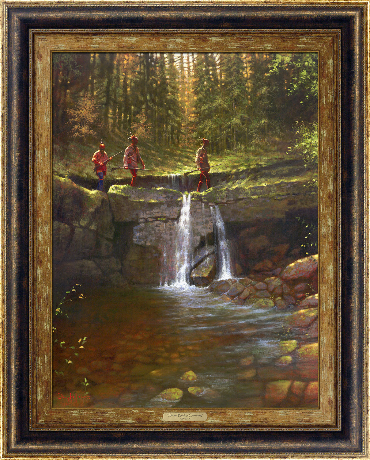 Stone Bridge Crossing by Doug Hall | Giclée