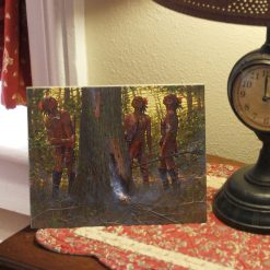 Smokin' Out the Den Tree - 8x10 Ceramic Tile