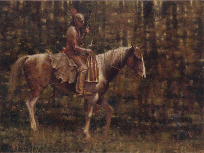 Indian Paintings | French & Indian War | Oil Painting | Doug Hall | Artist